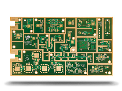 12 Layers Radio Frequency PCB