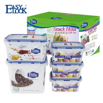 Les meilleurs récipients en plastique de stockage de nourriture de Snap Lock