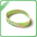 Großverkauf der Fabrik Silikon-Energie-Armband preiswerte kundenspezifische Silikon-Armbänder