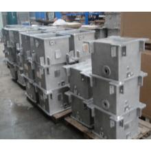 Piezas de caja de cambios de fundición de fundición de arena de aluminio