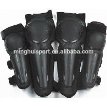 Fuerte protección de motocicleta Codo de motocross y rodilleras Bike Racing rodilla codo de guardia