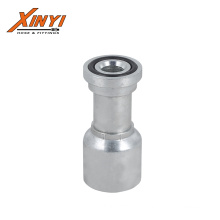high quality hot sells SAE Flange 6000PSI  Galvanized Carbon Steel One Piece Hydraulic Hose Fittings  in pipe fitting