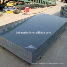 JINBAO white black 4x8 light grey rigid pvc foam sheet