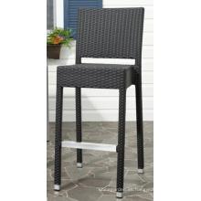 Taburete de la silla de jardín de mimbre al aire libre Patio muebles de la rota Bar