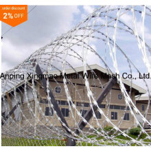 High Quality Galvanized Concertina Razor Wire/Razor Barbed Wire Manufactory