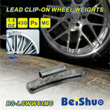 0.50 Oz 1/2 Oz Mc Style Steel Wheel Weight