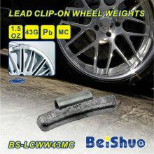0.50 Oz 1/2 Oz Mc Style Steel Wheel Weight
