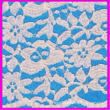 French Cotton Lace Fabric (6211)