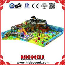 Piratenschiff Thema Innenarchitektur Play Center Spielplatz