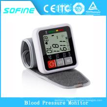 Gesundheitswesen Automatischer Digital-Handgelenk-Blutdruck-Monitor mit Pulsoximeter