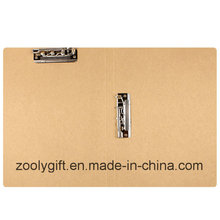Recycal Natural Brown Kraft Papier Fichier Dobule Clip Kraft Paper File Folder