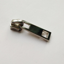 No. 5 Metal Zipper Slider Stainless Steel Finish