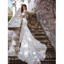 Sexy embroidery wedding dress mermaid bridal wedding dresses gowns for philippines