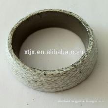 Graphite ring gasket , PTFE coated gasket