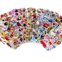 Etiqueta adesiva dos decalques dos desenhos animados feitos sob encomenda das crianças do PVC vária