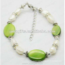 Fashion 2012 Joya Pearl Shell Beaded Anklet