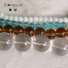 8mm 10mm 12mm lumineux fil de perle de verre