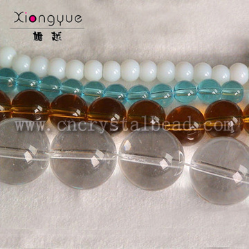 8mm 10mm 12mm shining Glass Bead Strand