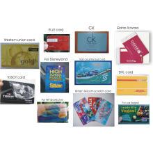 Goldprägefolie PVC-Visitenkarte