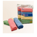4 Packs Plaid Clean Towels for Kitchen