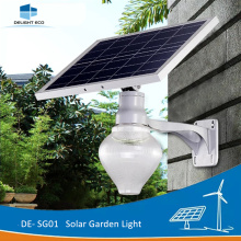 DELIGHT DE-SG01 Lámpara de jardín LED solar montada en la pared