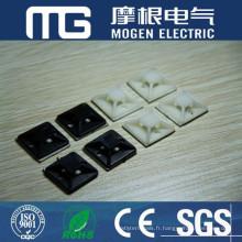 Fixation de bride de fixation de câble d'isolation Nylon66 à bas prix