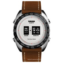 Famous brand leather cuff watches luxury montre homme