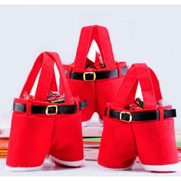 Enough Stock Santa calças de Natal do casamento saco de doces (C-1)