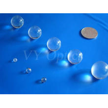 Lente de bola esférica de vidrio óptico pequeño