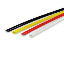 Luva trançada da isolação da fibra de vidro quente do silicone dos vendedores para o chicote de fios do fio