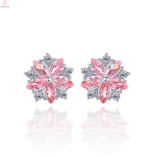 Beautiful Flower Designs 925 Sterling Silver Earrings Stud