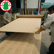 High quality Furniture red oak/ash veneer faced MDF