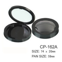 PCR-ABS Round Cosmetic Plastic Compact