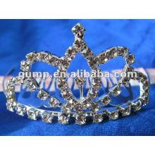 Crstal tiara comb (GWST12-106)