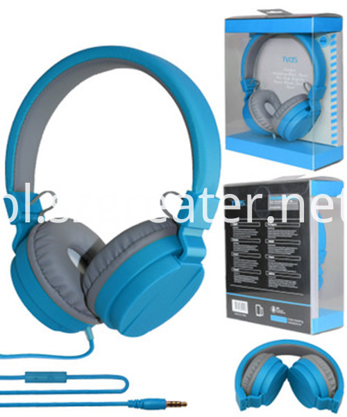 Blue Color Headphone