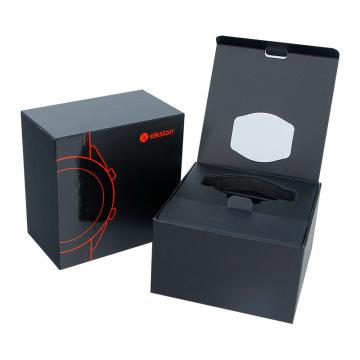 изготовленная на заказ магнитная коробка упаковки электронных часов кварцевых часов
