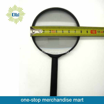 Plastic material magnifying glass for sale