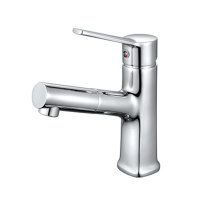 Factory Sale Durable Multifunctional Retractable Pull Out Faucet Accessory Tap Mixer Basin sink faucets