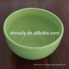 Цветная глазурованная керамическая миска с различными размерами и цветом