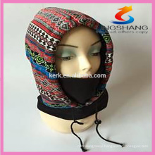 Outdoor winter face ski mask hats and caps fleece hood balaclava