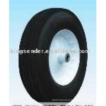 roda semi-pneumática