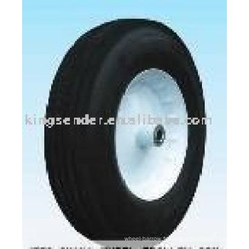 roue semi-pneumatique