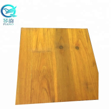 Yellow 3 Layers Wood Shuttering Panel With Cheap Price For Construction