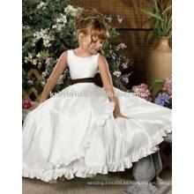 Para ser hecho con materiales de alta calidad, vestidos de niñas