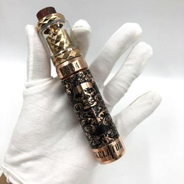 Latest brass cupronickel vape mech mod kit