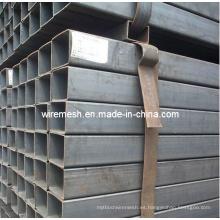 Tubo de acero cuadrado galvanizado de fabricación profesional