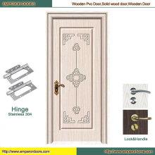 Porte en bois de PVC de porte en bois de porte en bois de l'Europe