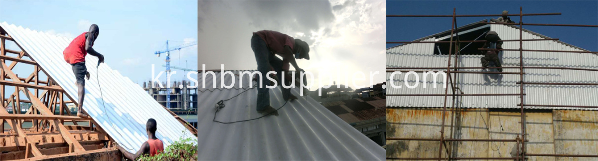Environmental-Friendly Iron Crown MgO Roofing Sheets