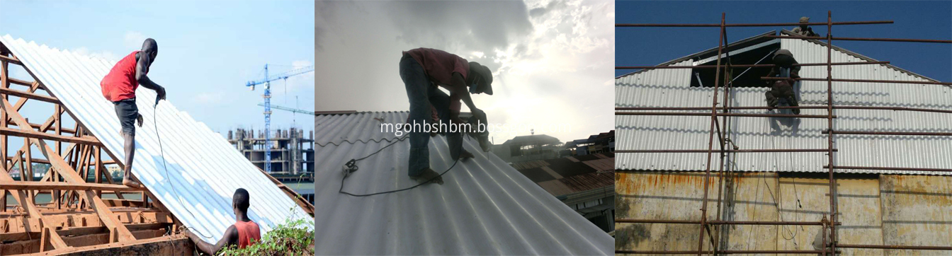 Corrosion-Resistant Fireproof Aluminium Foil MgO Roof Sheets