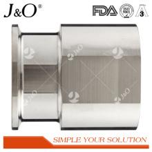 Raccords de tuyaux de tube hexagonaux sanitaires Adaptateur de pinces femelles